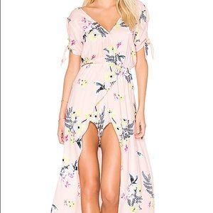 Jack by BB Dakota Floral Maxi Romper Dress NEW!!